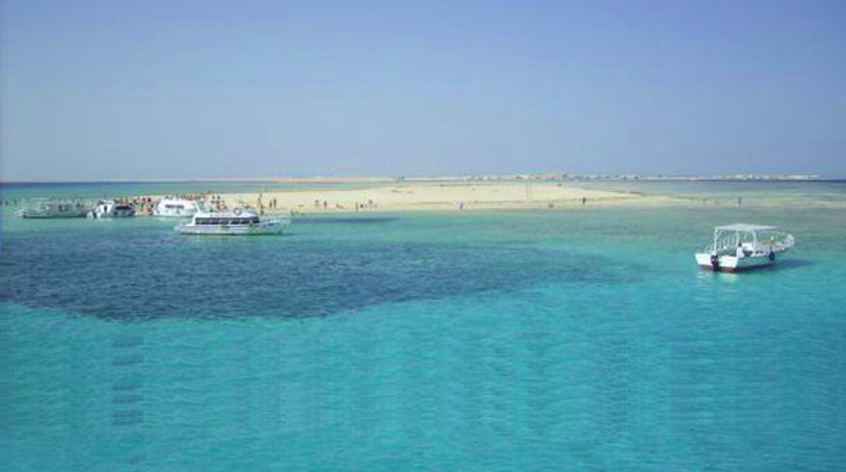 Visit island Utopia from Hurghada - sea trip with transfer from you hotel