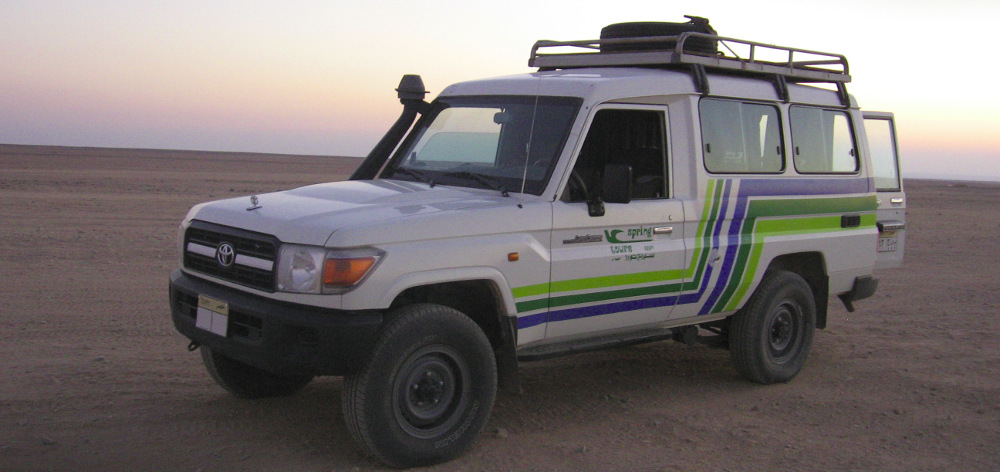 Jeep safari to the desert - 5 hours trip from Hurghada