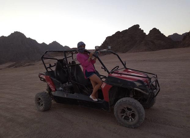 Spider car Safari (Buggy) from Hurghada