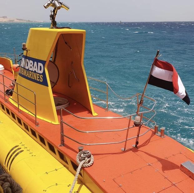 Sindbad Submarine from Hurghada