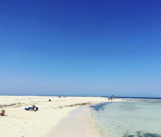 Utopia Island from Hurghada