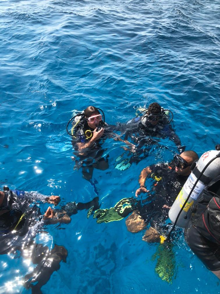 Diving in Hurghada