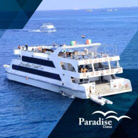 Paradise Glass Boat in Hurghada
