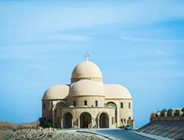 Monastery of St. Antony and Monastery of St.Paul from Hurghada