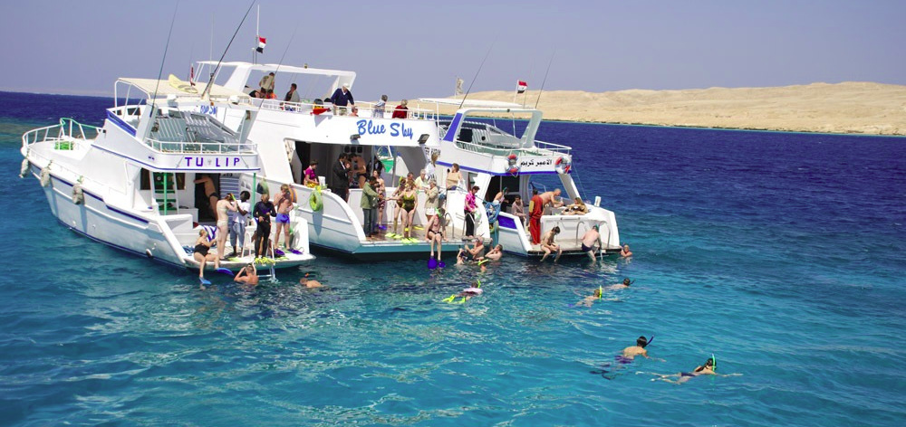 Giftun island - sea trip from Hurghada