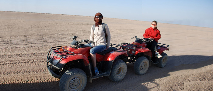 Safari and action trips from Hurghada