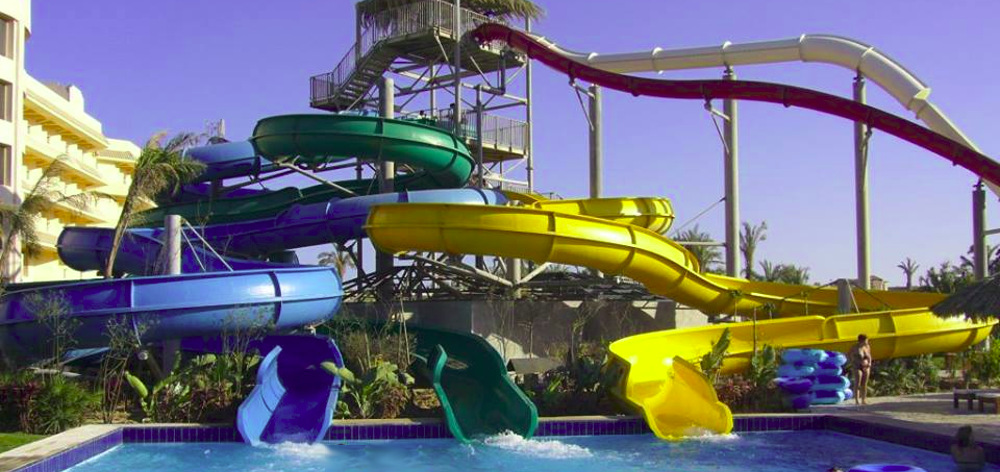 Sindbad Water Park in Hurghada
