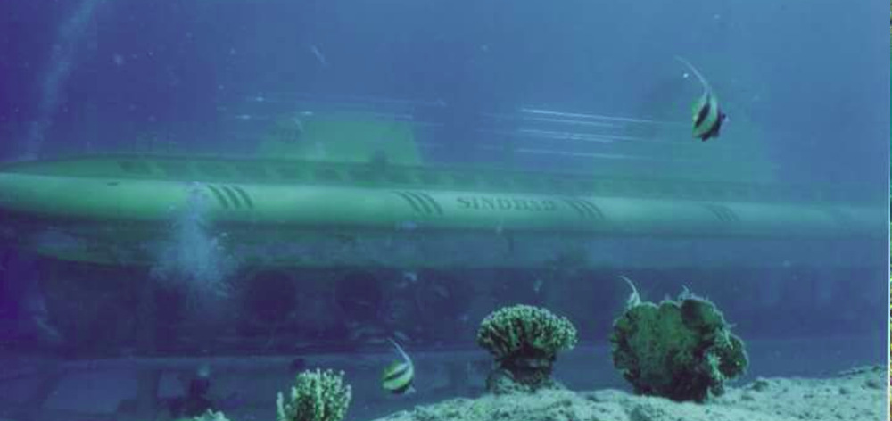 Trip on Sindbad submarine in Hurghada