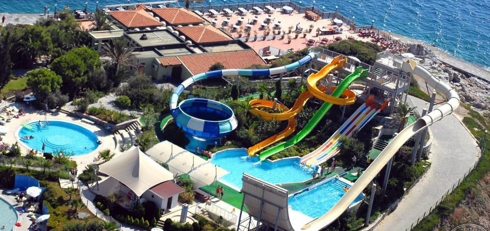 Tia Water Park in Makadi Hurghada